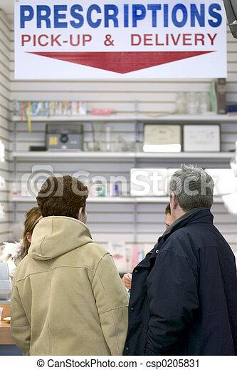 Prescrition pick up - csp0205831