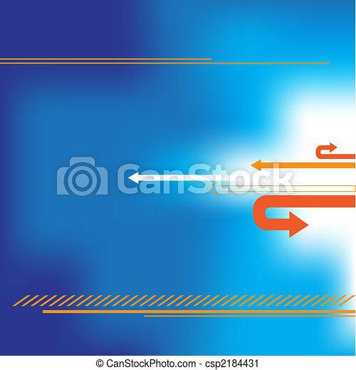 Presentation blue background - csp2184431