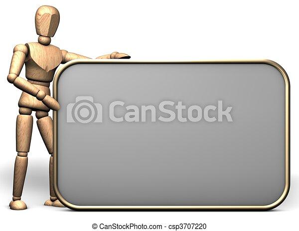 Presentation display - csp3707220