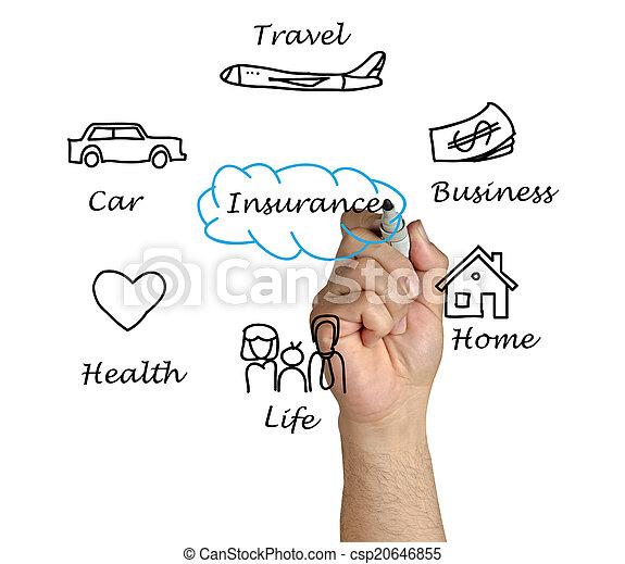 Presentation of insurance - csp20646855