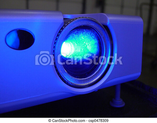 Presentation Projector for Meeting - csp0478309