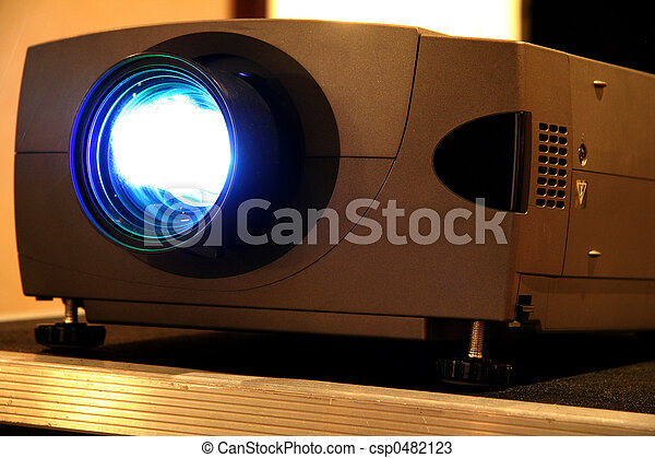 Presentation Projector for Meeting - csp0482123