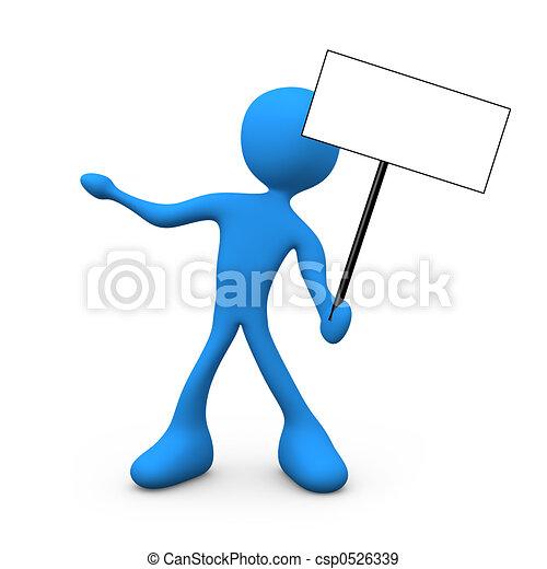 Presentation Sign - csp0526339