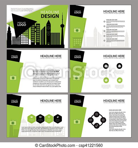 presentation templates, infographic elements template flat design, Report Presentation Template, Powerpoint templates