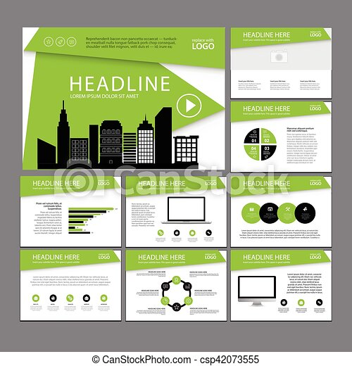 presentation templates infographic elements template flat design set for annual report brochure flyer leaflet marketing