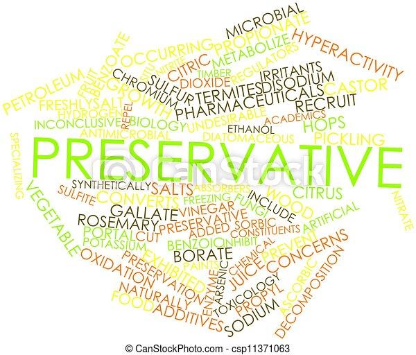 Preservative - csp11371063