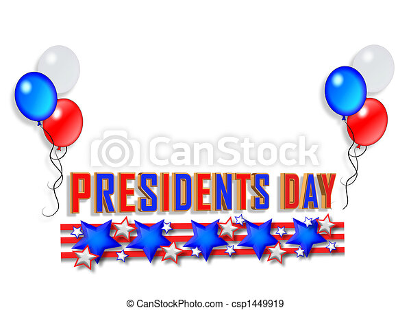 presidents day border graphic illustration composition for rh canstockphoto com