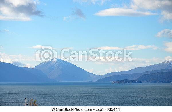 prespa, lago - csp17035444