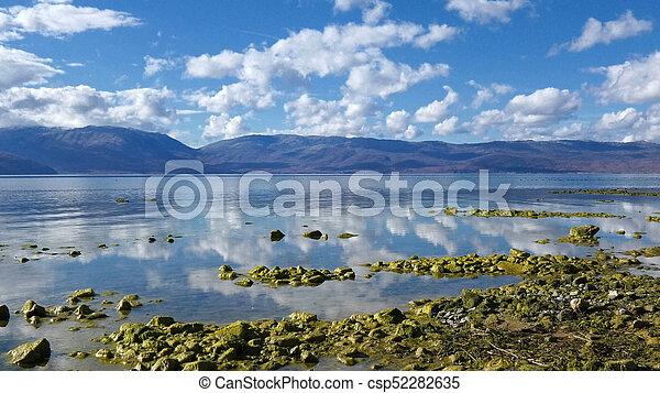 prespa, lago, macedonia - csp52282635