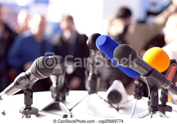 Press conference - csp25669774