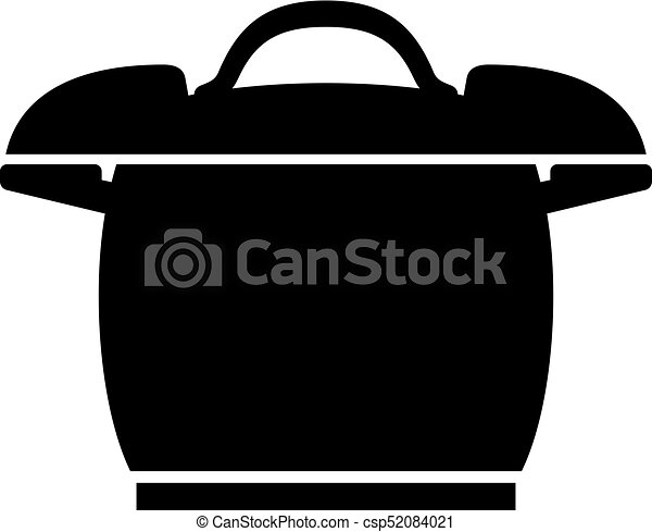 Pressure cooker icon - csp52084021