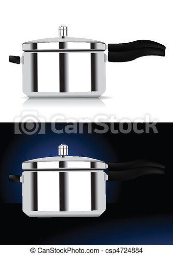Pressure cooker vector illustration - csp4724884