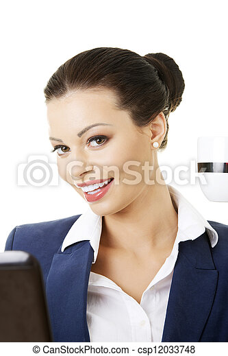 Pretty manager woman - csp12033748