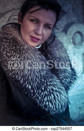 Understand Russian women in fur coats