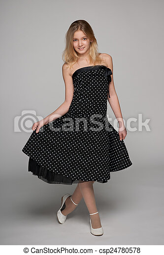 Pretty young girl - csp24780578