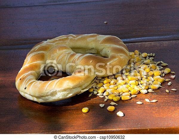 pretzel and seeds - csp10950632