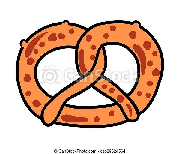 pretzel clip art vector search drawings and graphics images rh canstockphoto ca pretzel stick clipart pretzel clip art free