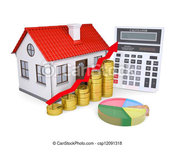 prezzi, proprietà, crescita - csp12091318