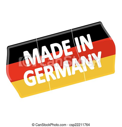 """price tag """"MADE IN GERMANY"""" - csp22211764"""