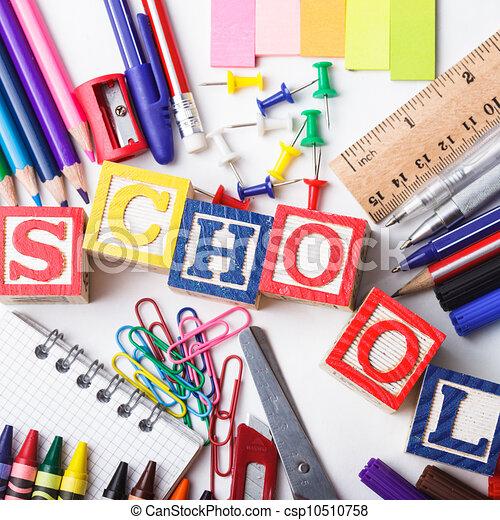 Primary school stationery - csp10510758