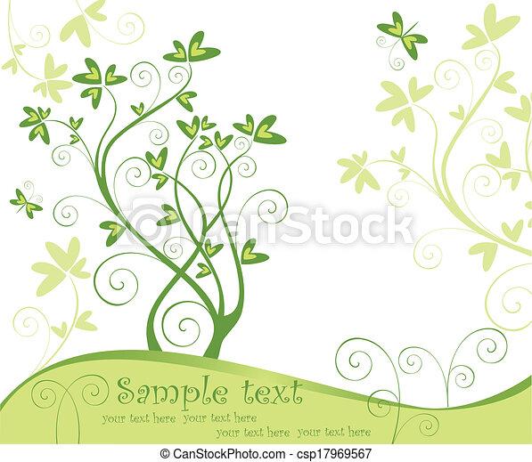 primavera, árvore - csp17969567