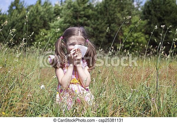Alergia primaveral - csp25381131