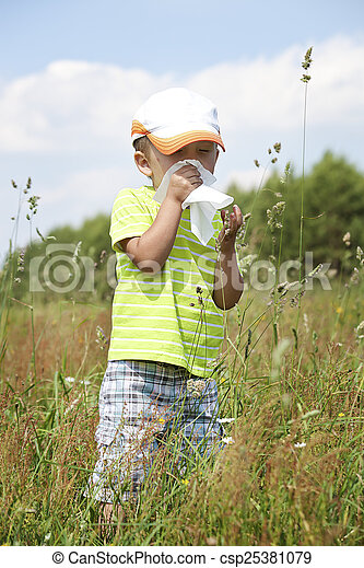 Alergia primaveral - csp25381079