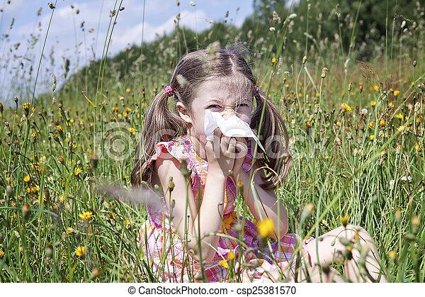 Alergia primaveral - csp25381570