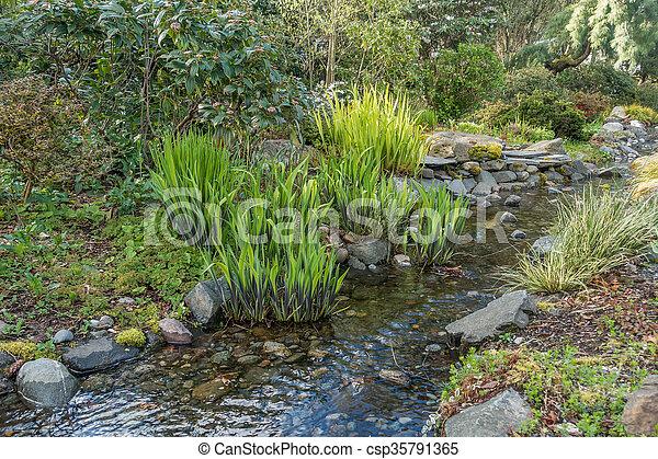 Balbuceando en primavera - csp35791365