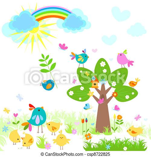 Brillante primavera - csp8722825