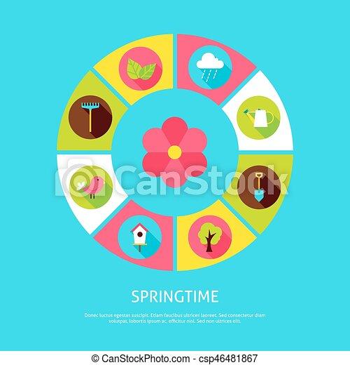 primavera, concetto, tempo - csp46481867