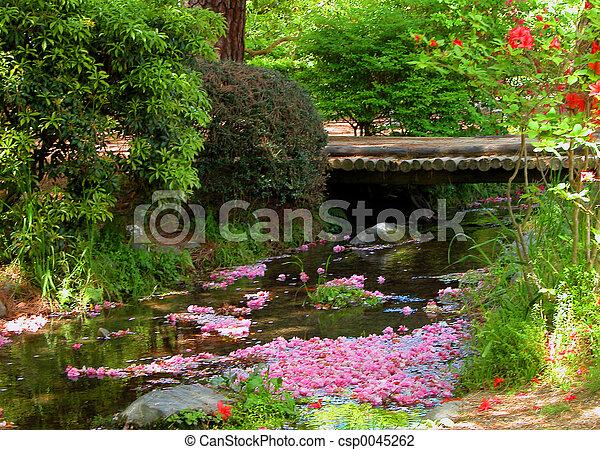 primavera, fiume - csp0045262