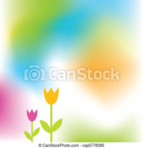 primavera, fundo - csp5778395
