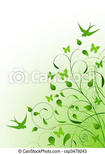 primavera, fundo - csp3479243