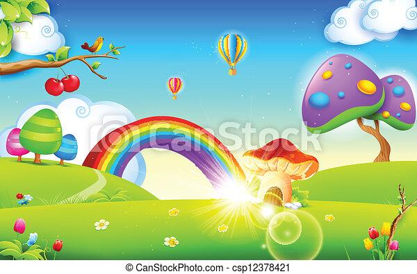 primavera, natureza, estação - csp12378421