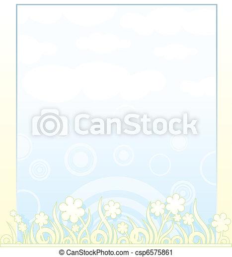 Antecedentes de primavera - csp6575861