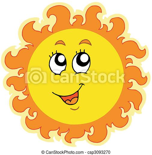 primavera, sol - csp3093270