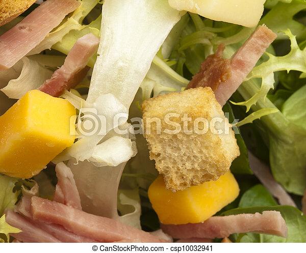 Cerca de una ensalada - csp10032941