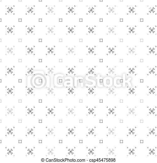 primitív, motívum, megvonalaz, circles., retro, geometriai, sacra - csp45475898