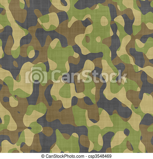 primo piano, camoflage - csp3548469
