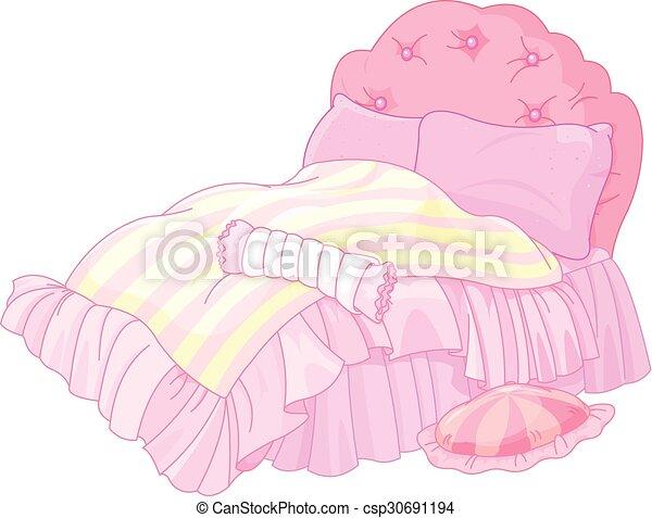 princesa, cama - csp30691194