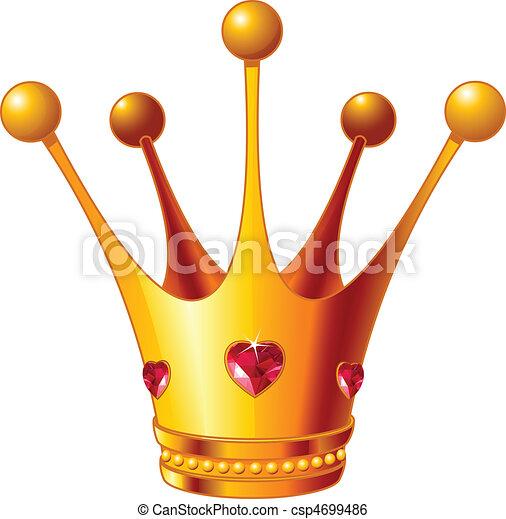 Princesa Corona - csp4699486