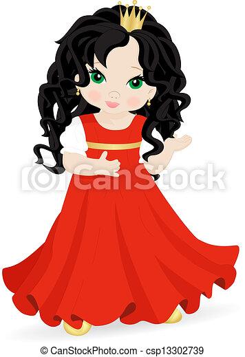 Pequeña princesa - csp13302739