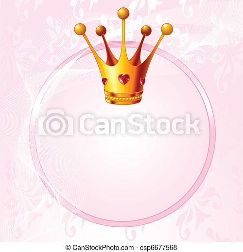 Princess crown - csp6677568