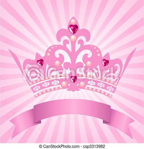 Princess crown - csp3313982