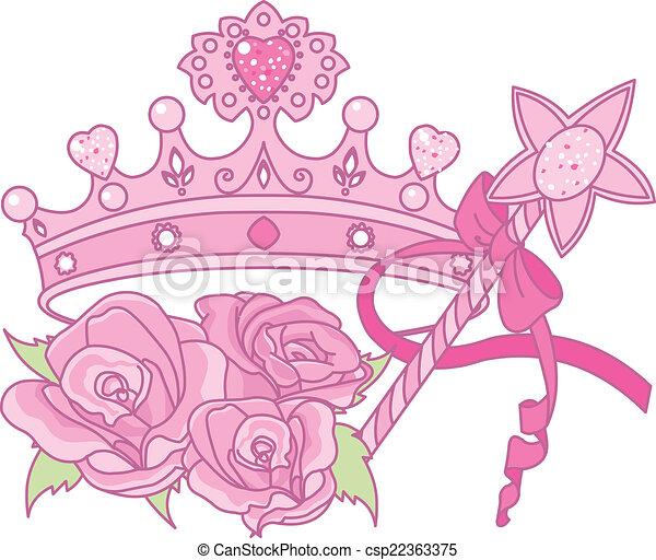 Princess crown - csp22363375