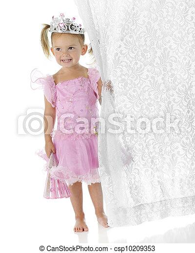 Princess Curtain-Clutcher - csp10209353
