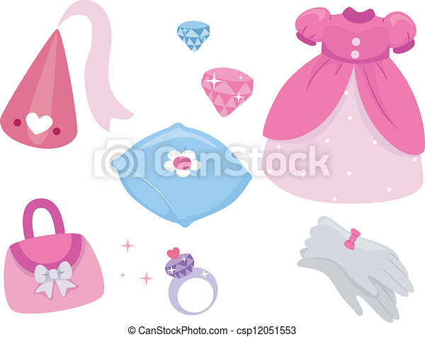 Princess Design Elements - csp12051553