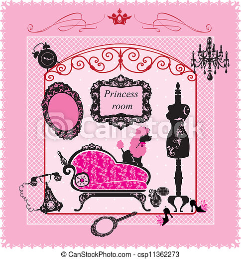Princess Room - csp11362273