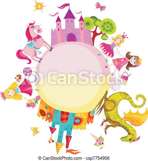 princess set - csp7754956
